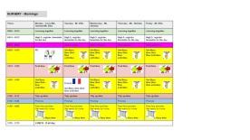 morning-timetable